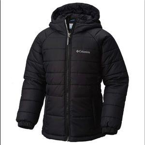 Boys Columbia Hooded Puffer Jacket